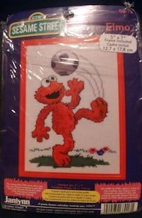 Sesame Street Cross Stitching Kit Toronto, M4A