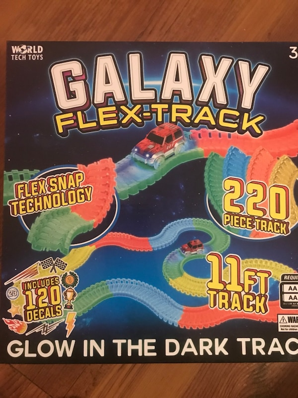 Glow in the dark track