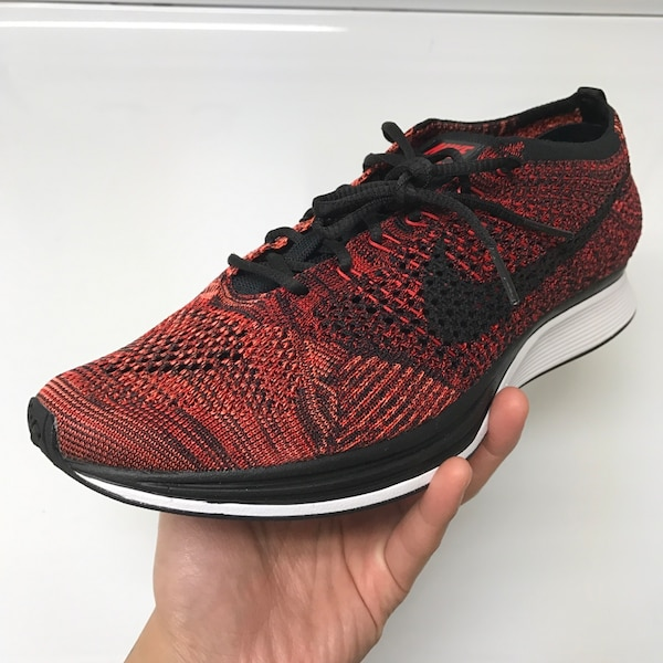 18bed9cde2cd Used Flyknit racer