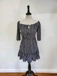 BB Dakota striped dress size XS