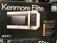 Kenmore Elite- (79393 ) Stainless steel (silver)stainless steel 2.2 cu. ft. Countertop Microwave Oven Garden Grove, 92841
