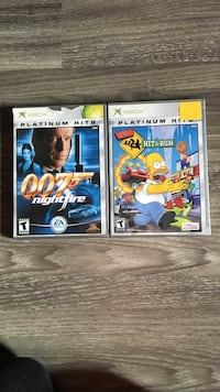 two Nintendo Wii game cases Woolwich, N0B