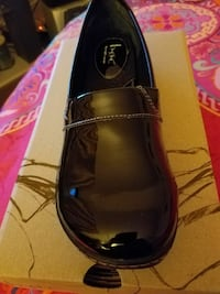 Black patent clog, size 9. Runs small Baltimore, 21206