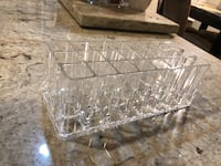 clear cut glass bowl with lid Woodbridge, 22192