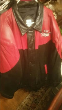 red and black zip-up jacket Columbus, 31904