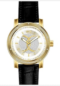 Super techno diamond gold plated watch Richmond, V6V 1M3