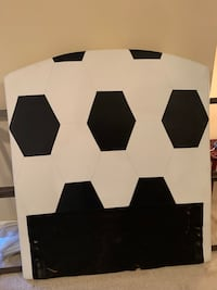 Soccer themed headboard for twin size bed Silver Spring, 20904