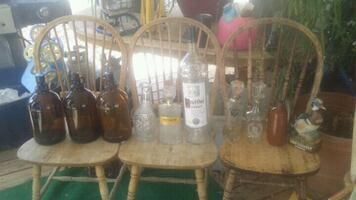 Hugh bottle collection