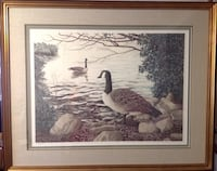 Helen Rundell Signed, Numbered 213/250 Nature Litho Pro Framed Rare Shrewsbury, 17361