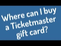Ticketmaster egift cards for sale half price and cheap bundle deals Calgary