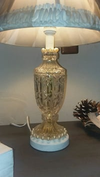 Crystal cut glass vintage lamp Cartwright, 74731