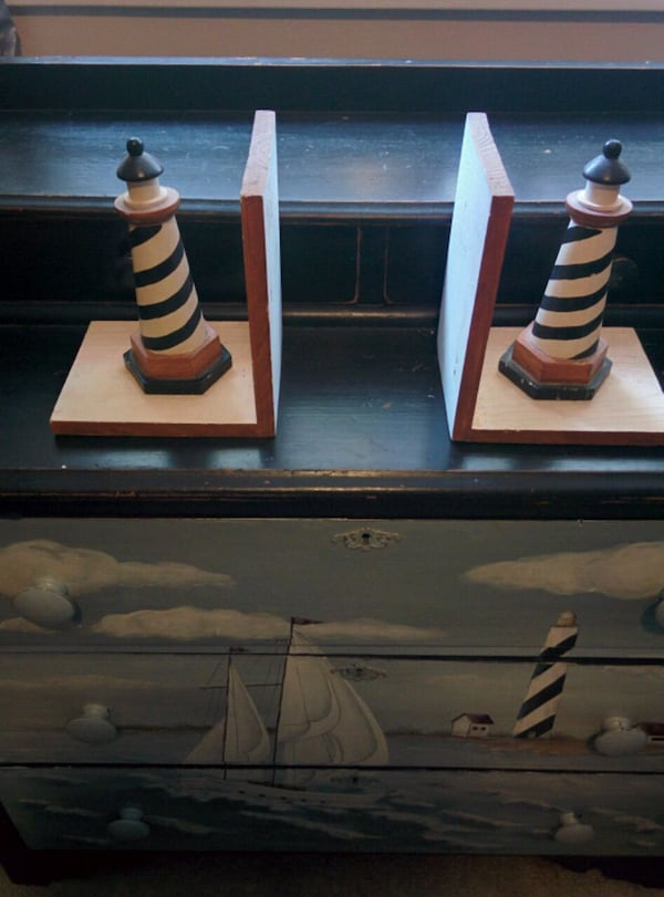 5 piece Hand Painted Nautical Themed bedroom Furn. 056edf32-fdc5-43f8-93e0-083c8b636cdf