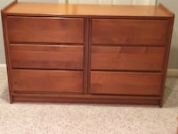 6 Drawer Dresser, Double Bed/convertible to a crib Buffalo Grove, 60089