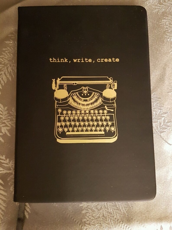 two black and brown notebooks - price for both 78678340-7a8c-446b-888f-6e183fccc629