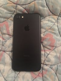 black iPhone 7 with case Newport News, 23608