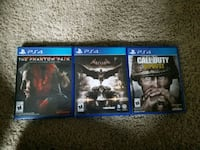 three assorted PS4 games Damascus