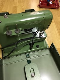 Green and black electric sewing machine Pickering, L1V