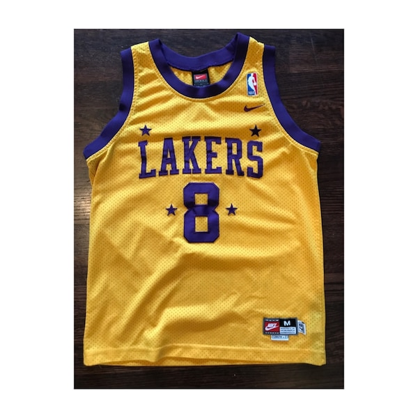 new product 5693b 122fb Kobe Bryant Nike Swingman LA Lakers Youth NBA Jersey