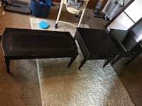 Coffee table and 2 end tables  Columbus, 43228