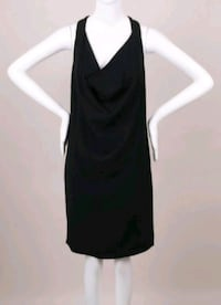 Celine black halter dress  Toronto, M5V 4A2