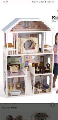 Girls play stuffs doll house, kitchen n laundary Des Plaines