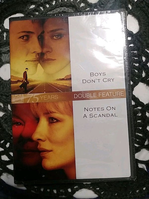 Boys don't cry and Notes on a scandal double feature DVD 0
