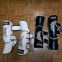 MMA shin guards.. size YL/XS Queens, 11413