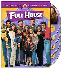 FULL HOUSE SEASON 8 DVD (4 Discs)*IF AD'S UP, IT'S STILL AVAILABLE 508 km
