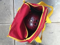17 and 12lb bowling balls with bags and shoes Annandale, 22003