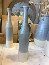 Brand new ceramic slim vase.