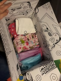 2T-3T girls clothes 2 boxes