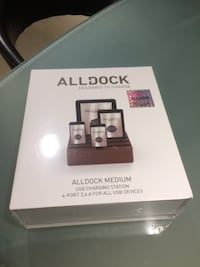 Brand New Alldock Medium Shell with Top, 4 x 2.4 USB Docking Station