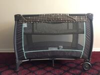 Black and gray graco pack n play. Clean and great shape Toronto, M1G 1R9