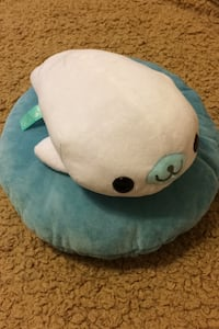 Cute Mamegoma Stuffed Animal Seal Japanese Anime Character Plush Toy