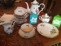 Tea set for six (6) made in Japan Bethlehem
