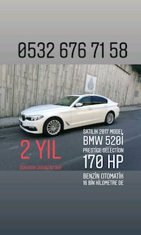 BMW - 5-Series - 2017 Levent
