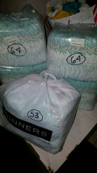 181 size 3 pampers diapers Vaughan