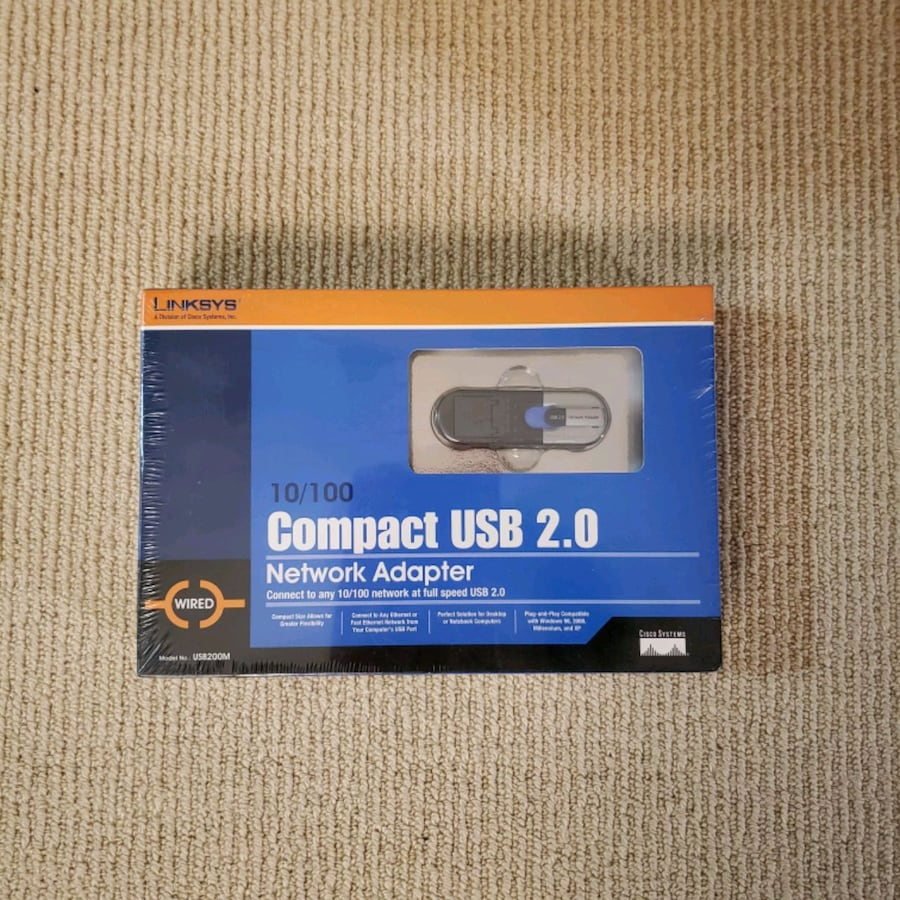 Linksys 10/100 Compact USB 2.0 Network Adapter