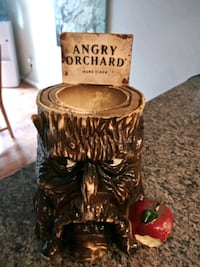 Angry Orchard Tree Stump Tip Jar Display Gaithersburg, 20886