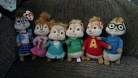 Alvin, the chipmunks and chipettes