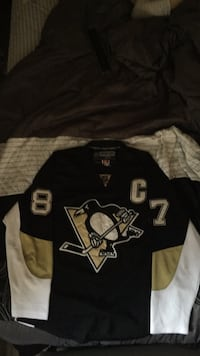 Pittsburgh Penguins Crosby 87 Jersey Edmonton