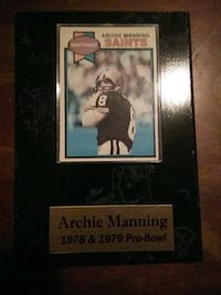 Football card Archie manning Metairie, 70006