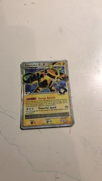 15 pokemon cards chance at  electivire FB  LV.X Broken Arrow, 74012