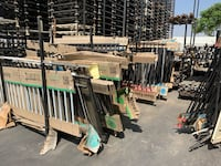 Used steel fence panels  Riverside, 92501
