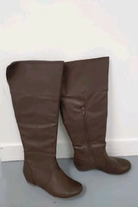 Like new sz 8 womens Brown boots