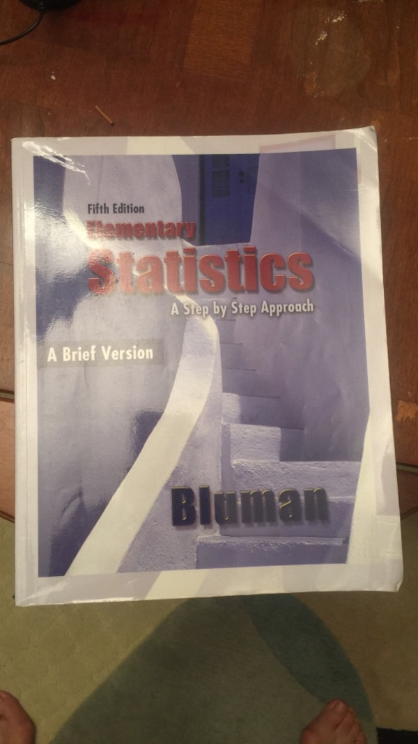 Used Elementary Statistics book for sale in Monterey - letgo