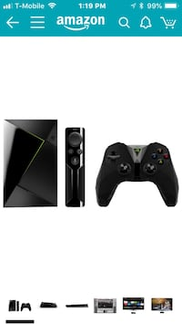 black Xbox One console with controller Ashburn, 20147