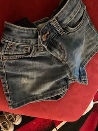 Girl's denim shorts,.....