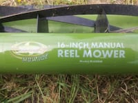 sun Joe 16 inch manual reel mower Melbourne, 32935