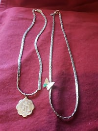 Libra & Butterfly necklaces